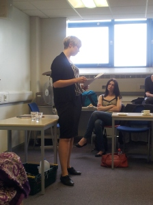 Natalie Banner of Wellcome Trust gave us an insight into policy work, and Science Policy internships within Parliament.